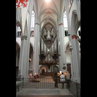 Altenberg, Dom, Blick in die Vierung zur Orgel