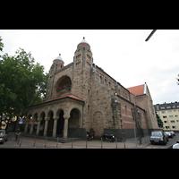 Köln, St. Maternus, Seitenansicht