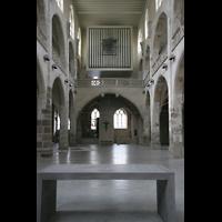 Köln, Jesuitenkirche St. Peter, Hauptschiff mit Orgel