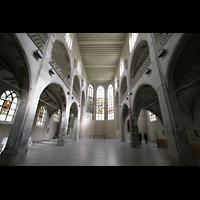 Köln, Jesuitenkirche St. Peter, Innenraum / Hauptschiff in Richtung Chor