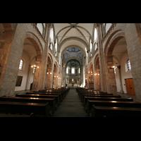 Köln, St. Aposteln (Hauptorgel), Innenraum / Hauptschiff in Richtung Chor
