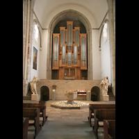 Köln, St. Aposteln (Hauptorgel), Orgel an der Rückwand