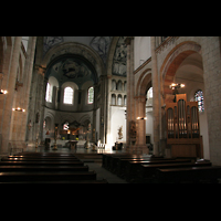 Köln, St. Aposteln (Hauptorgel), Chororgel und Chor