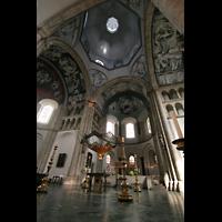 Köln, St. Aposteln (Hauptorgel), Vierungs- und Chorraum