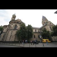 Köln, St. Aposteln (Hauptorgel), Seitenansicht