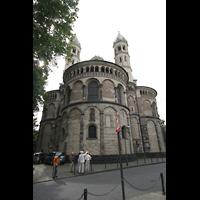 Köln, St. Aposteln (Hauptorgel), Chor