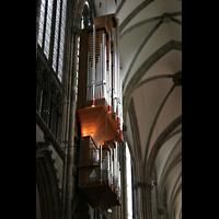 Köln, Dom St.Peter und Maria (Truhenorgel), Schwalbennestorgel