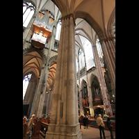 Köln, Dom St.Peter und Maria (Truhenorgel), Langhaus- und Querhausorgel