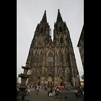 Köln, Dom St.Peter und Maria (Truhenorgel), Fassade