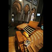 Köln, Dom St.Peter und Maria (Truhenorgel), Hauptspieltisch