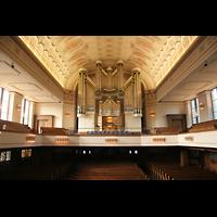 Düsseldorf Oberkassel, Auferstehungskirche (''Europa-Orgel''), Orgel mit Empore