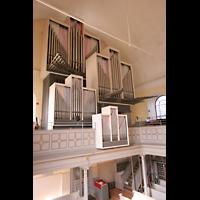 Düsseldorf, Neanderkirche, Orgelempore