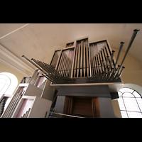 Düsseldorf, Neanderkirche, Hauptwerk mit Spanischen Trompeten