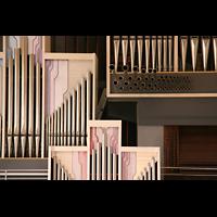 Düsseldorf, Neanderkirche, Orgel-Detail
