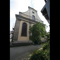 Düsseldorf, Neanderkirche, Fassade