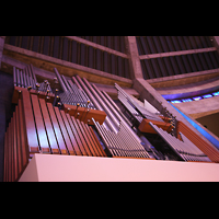 Liverpool, Metropolitan Cathedral of Christ the King, Orgel perspektivisch