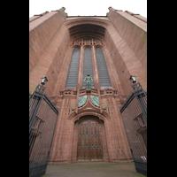 Liverpool, Anglican Cathedral (Hauptorgelanlage), Hauptportal