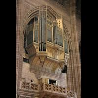 Liverpool, Anglican Cathedral (Hauptorgelanlage), Orgelprospekt