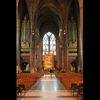 Liverpool, Anglican Cathedral (Hauptorgelanlage), Chorraum mit Orgel