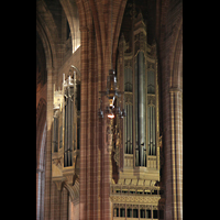Liverpool, Anglican Cathedral (Hauptorgelanlage), Rechter Orgelprospekt