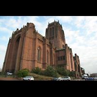 Liverpool, Anglican Cathedral (Hauptorgelanlage), Außenansicht
