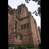 Liverpool, Anglican Cathedral (Hauptorgelanlage), Querhaus