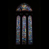 Liverpool, Anglican Cathedral (Hauptorgelanlage), Westfenster
