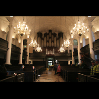 London, St. Martin-in-the-Fields, Innenraum mit Orgel
