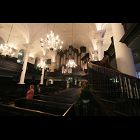 London, St. Martin-in-the-Fields, Kanzel und Orgel