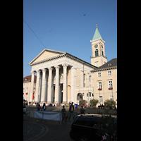 Karlsruhe, Stadtkirche (Chororgel), Fassade