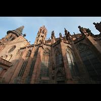 Freiburg, Münster unserer lieben Frau, Querhaus und Chor