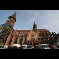Freiburg, Münster unserer lieben Frau, Seitenansicht