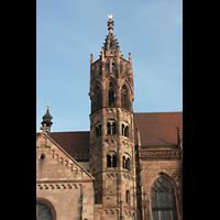 Freiburg, Münster unserer lieben Frau, Seitenturm