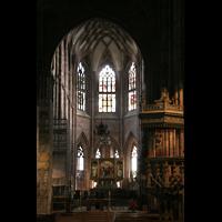 Freiburg, Münster unserer lieben Frau, Chorraum