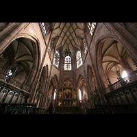 Freiburg, Münster unserer lieben Frau, Chor