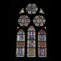 Freiburg, Münster unserer lieben Frau, Fenster