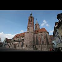 Villingen-Schwenningen, Münster Unserer lieben Frau Villingen, Seitenansicht
