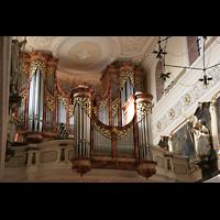 Villingen-Schwenningen, Münster Unserer lieben Frau Villingen, Orgelempore