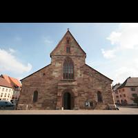 Villingen-Schwenningen, Münster Unserer lieben Frau Villingen, Fassade
