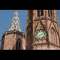Villingen-Schwenningen, Münster Unserer lieben Frau Villingen, Turm-Detail