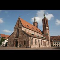 Villingen-Schwenningen, Münster Unserer lieben Frau Villingen, Gesamtansicht von außen