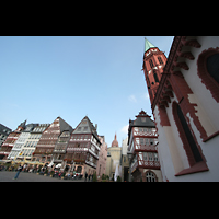 Frankfurt am Main, Alte Nikolaikirche (Positiv), Römer und Nikolaikirche