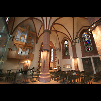 Frankfurt am Main, Alte Nikolaikirche (Positiv), Innenraum