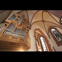 Frankfurt am Main, Alte Nikolaikirche (Positiv), Orgel perspektivisch