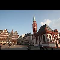 Frankfurt am Main, Alte Nikolaikirche (Positiv), Nikolaikirche und Römer