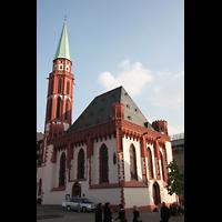 Frankfurt am Main, Alte Nikolaikirche (Positiv), Gesamtansicht