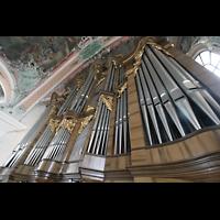 Sankt Gallen (St. Gallen), Kathedrale (Chororgel), Prospekt der großen Orgel