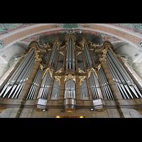 Sankt Gallen (St. Gallen), Kathedrale (Chororgel), Prospekt der Hauptorgel