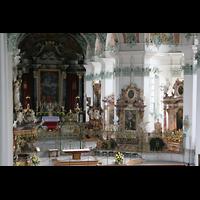 Sankt Gallen (St. Gallen), Kathedrale (Chororgel), Chorraum