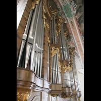 Sankt Gallen (St. Gallen), Kathedrale (Chororgel), Hauptorgel-Prospekt